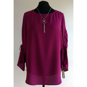 Berry Blouse